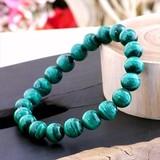 【30%OFF】【天然石ブレスレット】3A級クラスのマラカイト(孔雀石)(10mm)ブレス【天然石 マラカイト】