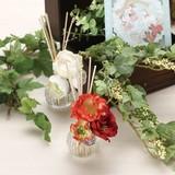 【フェアリーテイル フラワード ルームフレグランス】華やかな造花で彩られたロマンティックな芳香剤。