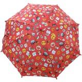 ー KIDS 雨傘 ー  アンパンマン柄安全手開き傘45cm