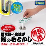 排水管一発洗浄 髪の毛とかし<洗剤 洗面台 浴室>