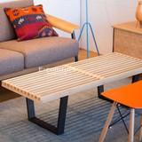 【ジョージ・ネルソン】ネルソンベンチ アッシュ材 デザイナーズ家具 無垢材 直送可能