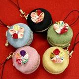 姫花 ワンコインストラップ <日本製>【京都 和雑貨 和小物 かわいい】