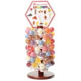【全米で大人気】グルメ・ロリポップ 木製スタンド70
