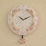 【セール】ローズ壁掛振り子時計