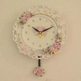 ローズ壁掛振り子時計