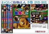 【子供/キッズ/DVD】わくわく動物えん 5巻DVD-BOX/動物園/動物/知育