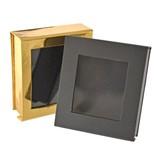 覗き窓つきマグネット式角ケース ギフトボックス アクセサリーケース ブレス ネックレス