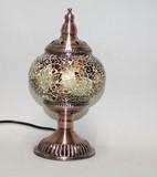 モザイク 硝子 ランプ アラビアン 金