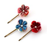 Double Knob Kyoto Japanese Craft Fancy Goods Hair Accessory Decoration