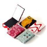 古都布 立ち鏡(色・柄アソート) <日本製>【京都 和雑貨 和小物 かわいい】