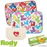 【Rody】Rodyひざ掛け&トートバッグ/MANY ギフトBOX入り
