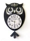 【お仕入れ10000円で送料無料♪♪】【OWL振り子時計】