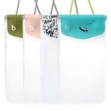 【5インチスマートフォン】bikit スマートフォン用ファッション防水ポーチ カジュアル
