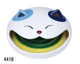 涼しげな「置物とインテリア」 【福笑い猫 金魚蚊遣器】