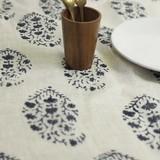 Tablecloth Herringbone Flower