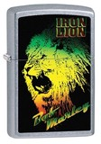 【Zippo】アメリカ直輸入! Bob Marley Iron Lion #28844}
