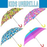 【キッズ】アンブレラ * ポップな柄の子供用傘です♪