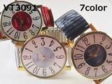 VITAROSOレディース腕時計 ジャバラベルト 日本製ムーブメント 大きめ文字盤