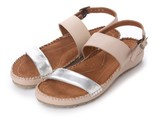 Genuine Leather Cow Leather Ankle Casual Sandal