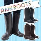 雨や雪の日に履きたい☆シンプルなデザインのレインブーツ♪*゚