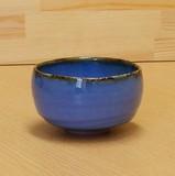 【有田焼】渕錆ブルー 抹茶碗