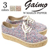 ★SALE★《即納》GAIMO《春夏》■Made in Spain■レディースシューズ■W MASLIN PEPPER