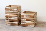【特価】柔らかい風合いの木製BOX  <ienowa/木製BOX リドュード>