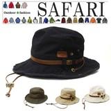 UV対策 夏ハット UV サファリハット アウトドア帽子 キャンプ 帽子 ヴィンテージワッペン (CR4137)