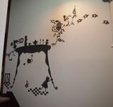 Wall art Alice  Largeサイズ(ブラック)