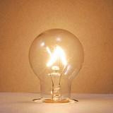 【白熱灯】【電球】《省エネ長寿命/2種のワット・ガラス色から選べる》クリプトンランプ P35 E17