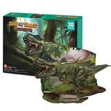 3D立体パズル 【AGE OF DINOS】ティラノザウルス 【P668h】
