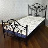 ★歳末SALE特価★イングランド アンティーク 新型ブリテン シングルベッド