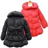 Berry's Pink(ベリーズピンク)天使のコート/リボン付き中綿コート/90cm〜130cm/