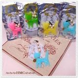 ○sale キャンデーカラー ネコ イヤホンジャックピアス 4カラー○