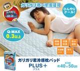 【大人気】【直送可】洗える冷感枕パッド「ガリガリ君プラス」約40×50cm