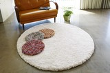 Marble Mat Chair Pat Fluffy All Use