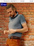 【父の日ギフト半袖ポロシャツ】メンズ製品染め洗い無地半袖ポロシャツ【全6色】