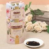 【Ceylon Fruits & Flowers】イングリッシュローズ&ディンブラ(茶葉125g入り)【ギフト/紅茶】