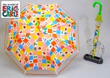 ◆2015 S&S新作◆ 【エリックカール】子供用雨傘  はらぺこあおむしPOE切継