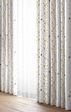 【ドレープカーテン】  ボスカート  美しいウェーブの形状記憶加工