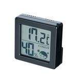 ミニデジタル温湿度計(黒) [海外発送相談可]