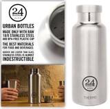 BPAフリーなステンレスボトル『THERMO BOTTLE』from イタリア(保冷・保温ボトル)