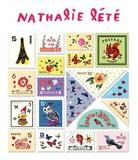 【ナタリーレテ】 スタンプステッカー Bタイプ-1 切手タイプ【シール】【ラベル】