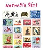 【ナタリーレテ】 スタンプステッカー Bタイプ-2 切手タイプ【シール】【ラベル】
