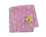 マインミート ポケットタオル フクロウ (可愛い動物の刺繍が入ったミニタオル)