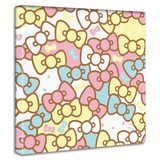 【ハローキティ】キティちゃんのアートボード インテリア アート 雑貨