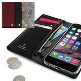 【■iPhone6s/6】シークレットポケットお財布ダイアリーケース