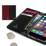 【iPhone6s Plus/6 plus 】シークレットポケットお財布ダイアリーケース
