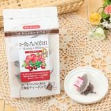 【Tea Boutique】ローズヒップ&ハイビスカスハーブティ(2g/tea bag10袋入り)★原産国:日本★