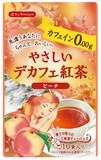 【Tea Boutique】やさしいデカフェ紅茶 ピーチ(1.2g/tea bag10袋入り)